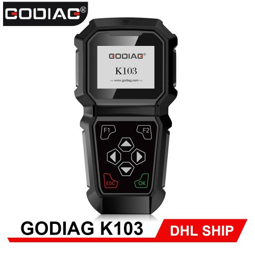 [Best Selling] GODIAG K103 for Nissan/Infiniti Hand-Held Professional OBDII Key Programmer