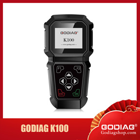 [US Ship] GODIAG K100 for Chrysler/Jeep Hand-Held Professional OBDII Key Programmer Free Shipping