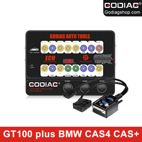 [US/UK/CZ Ship] GODIAG BMW CAS4 & CAS4+ Test Platform plus GODIAG GT100 Support All Key Lost,Add New Key,Synchronize Test and Troubleshooting